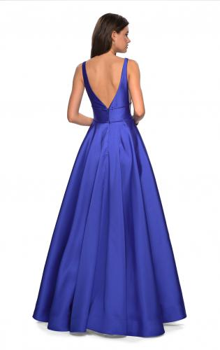 Picture of: A Line Sweetheart Prom Dress with Pockets, Style: 26768, Back Picture