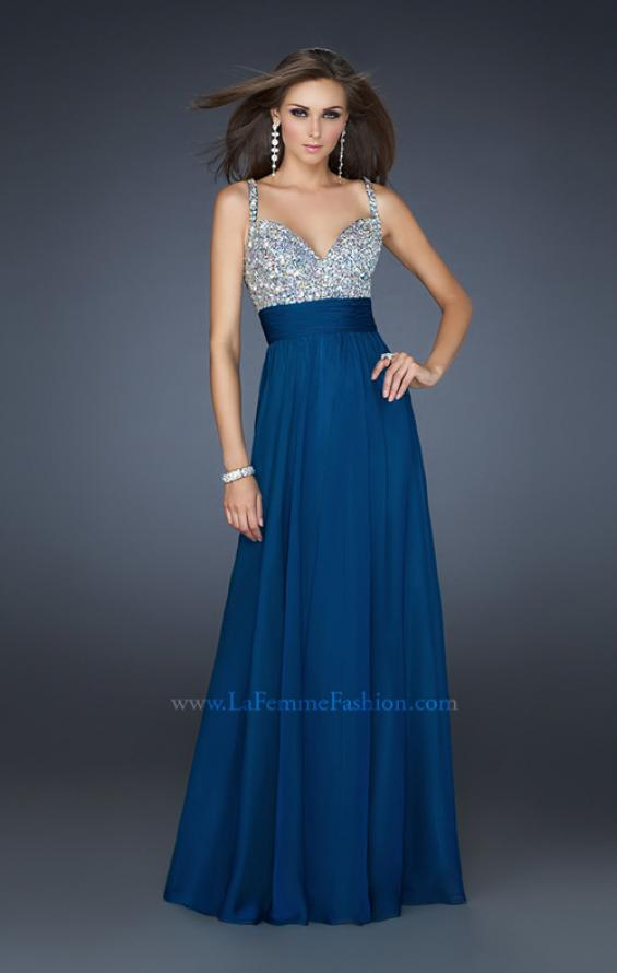 Picture of: Jewel Encrusted Prom Gown with A-line Skirt, Style: 16802, Detail Picture 8