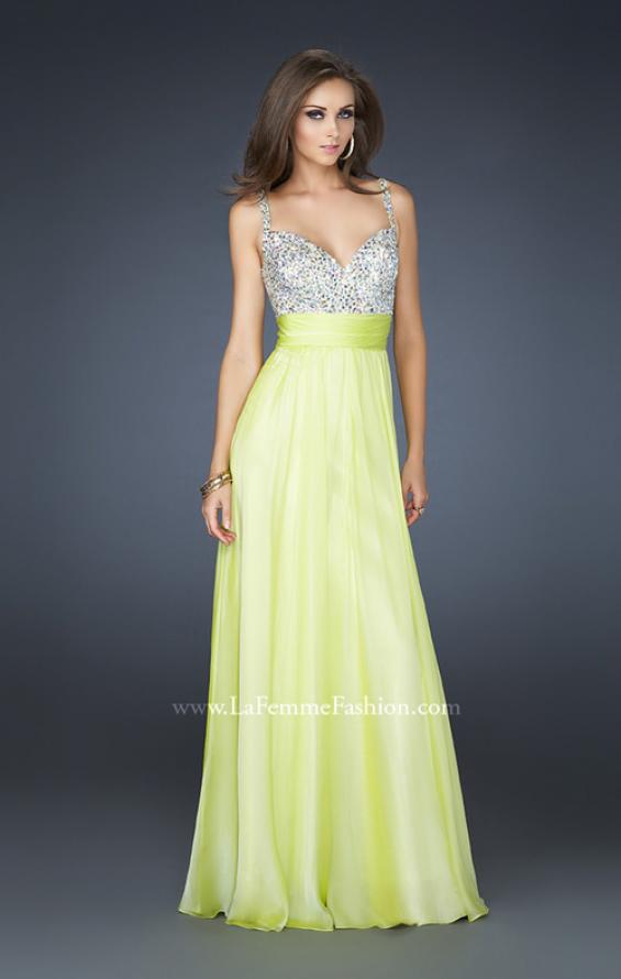Picture of: Jewel Encrusted Prom Gown with A-line Skirt, Style: 16802, Detail Picture 11