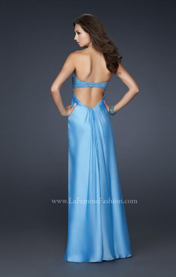 Picture of: Sweetheart Neckline Prom Dress with Beaded Detail, Style: 17114, Back Picture