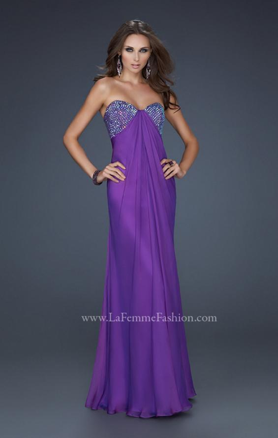 Picture of: Sweetheart Neckline Prom Dress with Beaded Detail, Style: 17114, Detail Picture 1