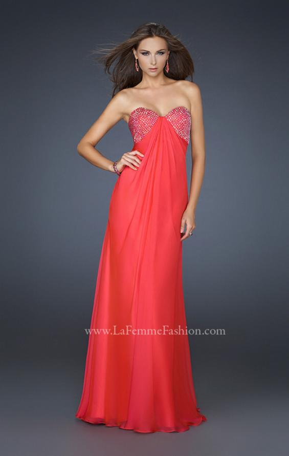 Picture of: Sweetheart Neckline Prom Dress with Beaded Detail, Style: 17114, Detail Picture 2