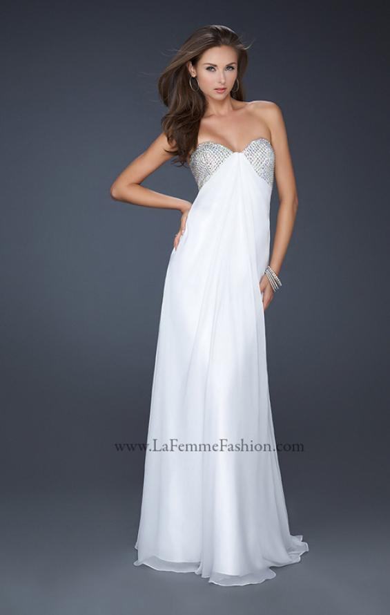 Picture of: Sweetheart Neckline Prom Dress with Beaded Detail, Style: 17114, Detail Picture 3