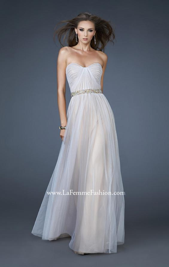 Picture of: Sweetheart Neckline Prom Dress with Beaded Belt, Style: 17150, Main Picture
