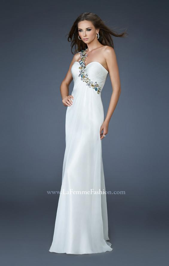 Picture of: Sweetheart Neckline Prom Dress with Multi Colored Stones, Style: 18673, Main Picture