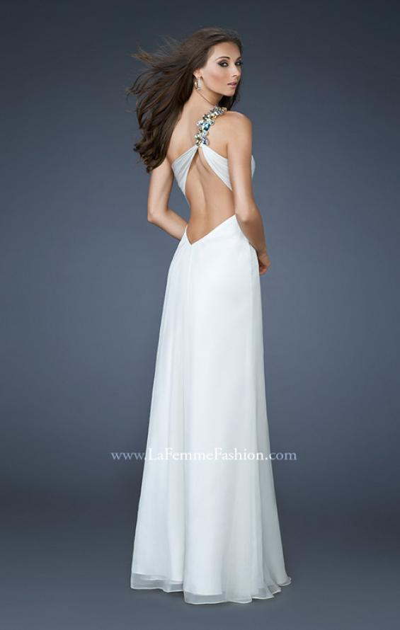 Picture of: Sweetheart Neckline Prom Dress with Multi Colored Stones, Style: 18673, Back Picture