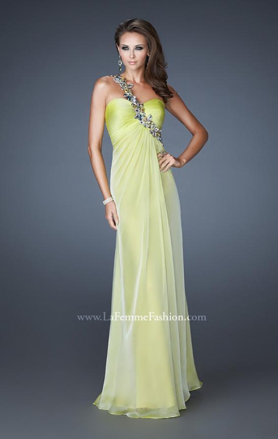 Picture of: Sweetheart Neckline Prom Dress with Multi Colored Stones, Style: 18673, Detail Picture 1