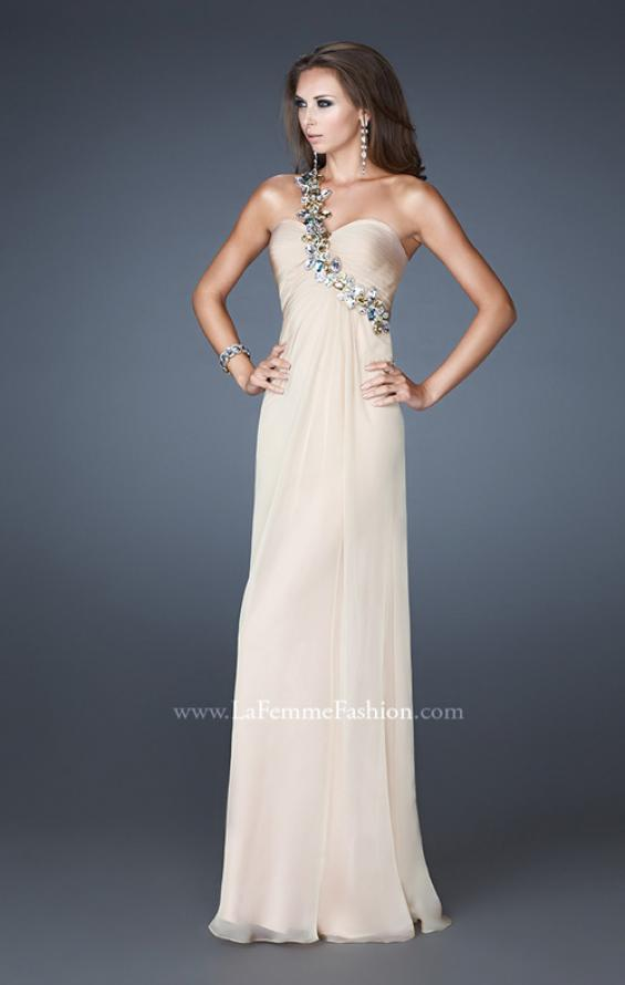 Picture of: Sweetheart Neckline Prom Dress with Multi Colored Stones, Style: 18673, Detail Picture 2