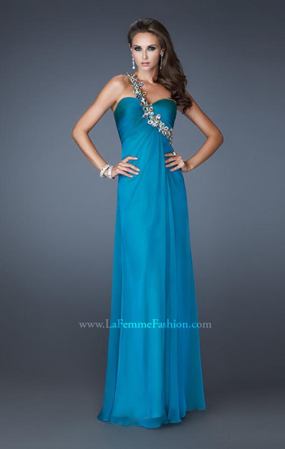 Picture of: Sweetheart Neckline Prom Dress with Multi Colored Stones, Style: 18673, Detail Picture 3