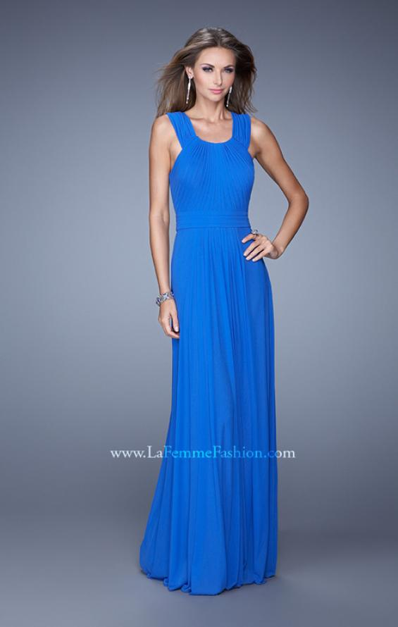 Picture of: Long Prom Dress with Adjustable Straps, Style: 20765, Main Picture