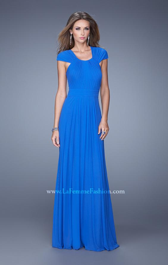 Picture of: Long Prom Dress with Adjustable Straps, Style: 20765, Detail Picture 2