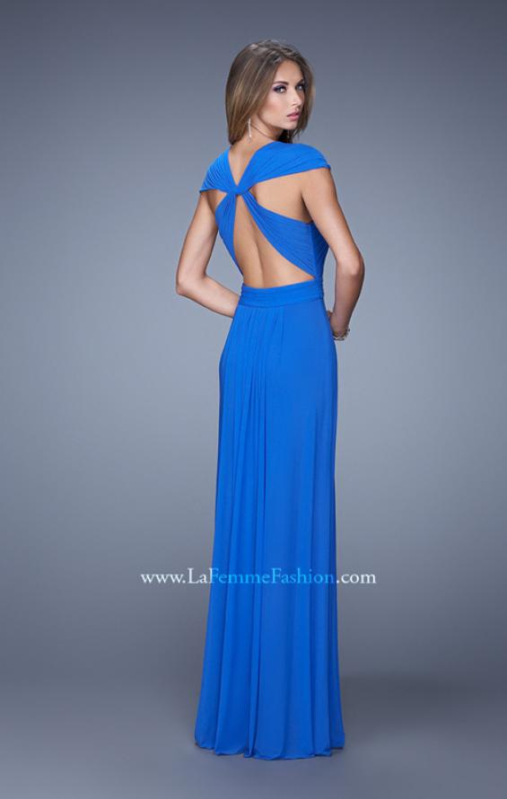 Picture of: Long Prom Dress with Adjustable Straps, Style: 20765, Detail Picture 3