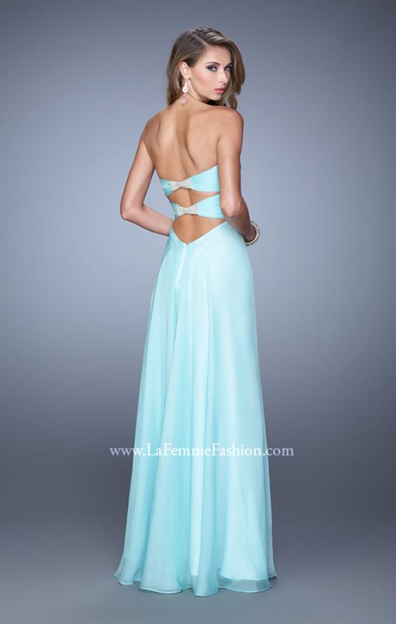 Picture of: Sweetheart Neckline Prom Dress with Crisscross Bodice, Style: 21057, Detail Picture 4