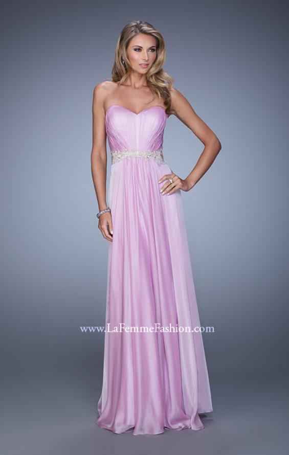 Picture of: Elegant Long Prom Dress with Beaded Embroidery, Style: 21177, Detail Picture 2