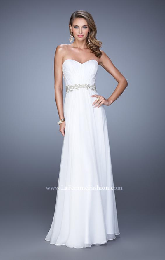 Picture of: Elegant Long Prom Dress with Beaded Embroidery, Style: 21177, Detail Picture 3