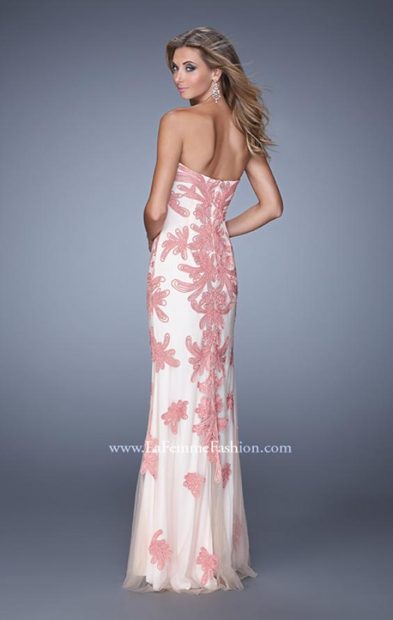 Picture of: Graceful Prom Dress with Embroidery and Rhinestones, Style: 21386, Back Picture