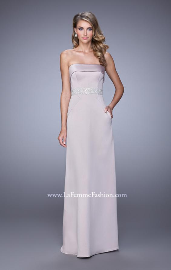 Picture of: Strapless Prom Dress with Intricate Beaded Embroidery, Style: 21554, Main Picture