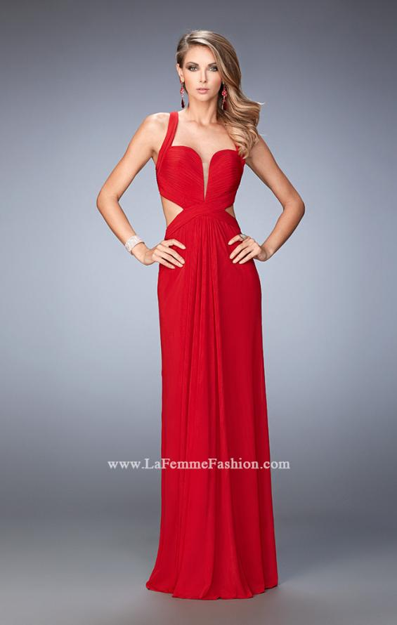 Picture of: Sexy Prom Dress with Cut Outs and Open Back in Red, Style: 22224, Main Picture