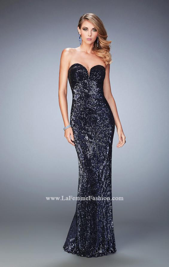 Picture of: Long Sequin Prom Gown with Sweetheart Neckline, Style: 22500, Main Picture