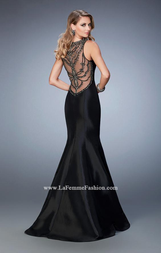 Picture of: Prom Dress with Rhinestones, Beads, and Crystals in Black, Style: 22590, Main Picture