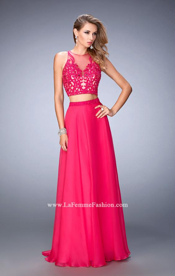 Picture of: Beaded and Embroidered Two Piece Prom Dress, Style: 22652, Main Picture