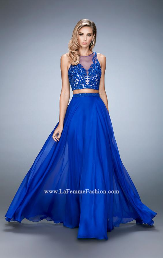Picture of: Beaded and Embroidered Two Piece Prom Dress, Style: 22652, Detail Picture 1