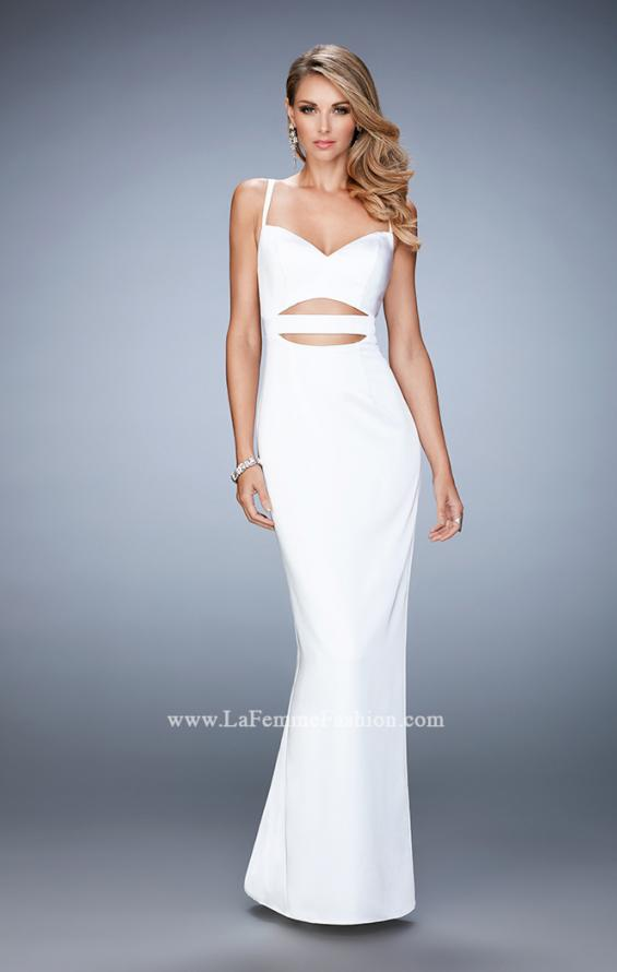 Picture of: Prom Gown with Cut Outs and Back Slit, Style: 22689, Detail Picture 4