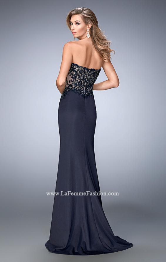 Picture of: Sweetheart Neckline Prom Dress with Train, Style: 22774, Back Picture
