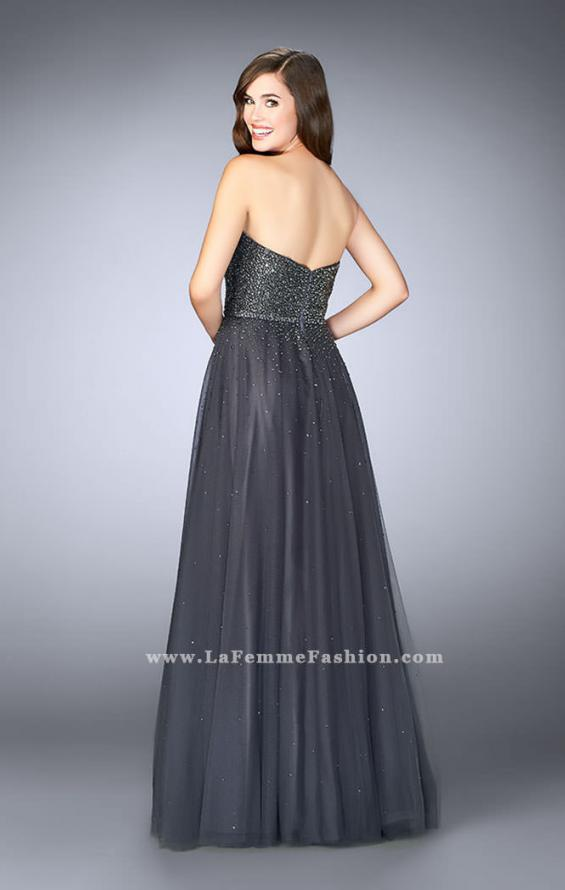 Picture of: Sweetheart Strapless Tulle Dress with a Beaded Bodice, Style: 23228, Detail Picture 3
