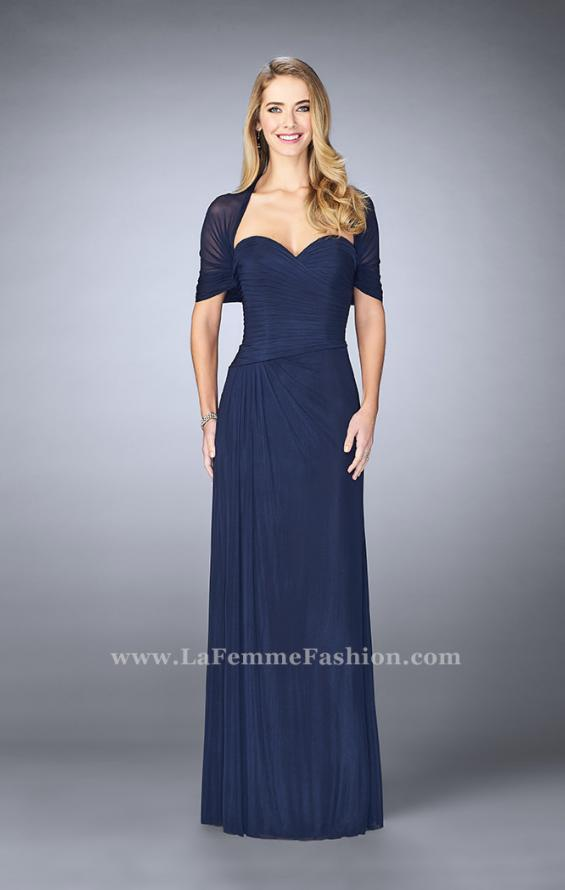 Picture of: Evening Dress with Attached Shoulder Wrap, Style: 23623, Main Picture