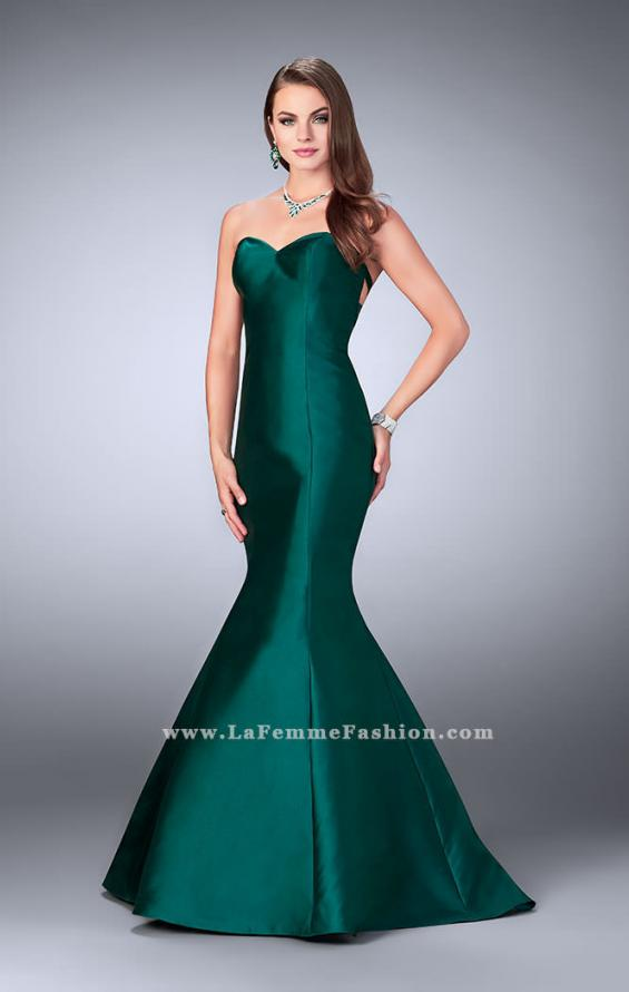 Picture of: Mikado Mermaid Dress with Sweetheart Neckline in Green, Style: 23916, Main Picture
