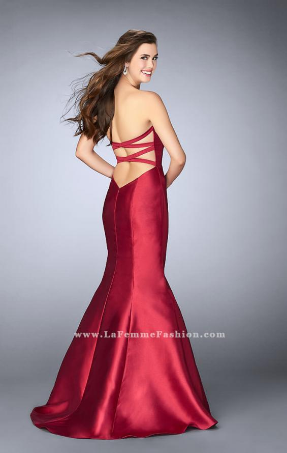 Picture of: Mikado Mermaid Dress with Sweetheart Neckline in Red, Style: 23916, Detail Picture 2
