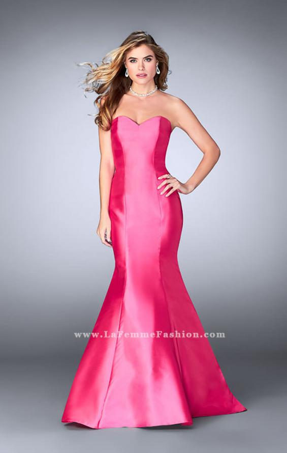 Picture of: Mikado Mermaid Dress with Sweetheart Neckline in Pink, Style: 23916, Detail Picture 5