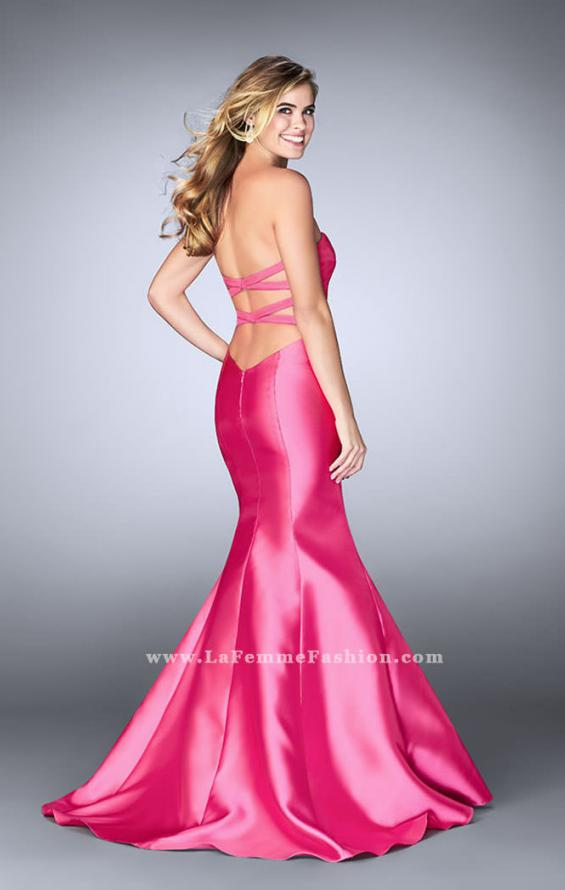 Picture of: Mikado Mermaid Dress with Sweetheart Neckline in Pink, Style: 23916, Detail Picture 6