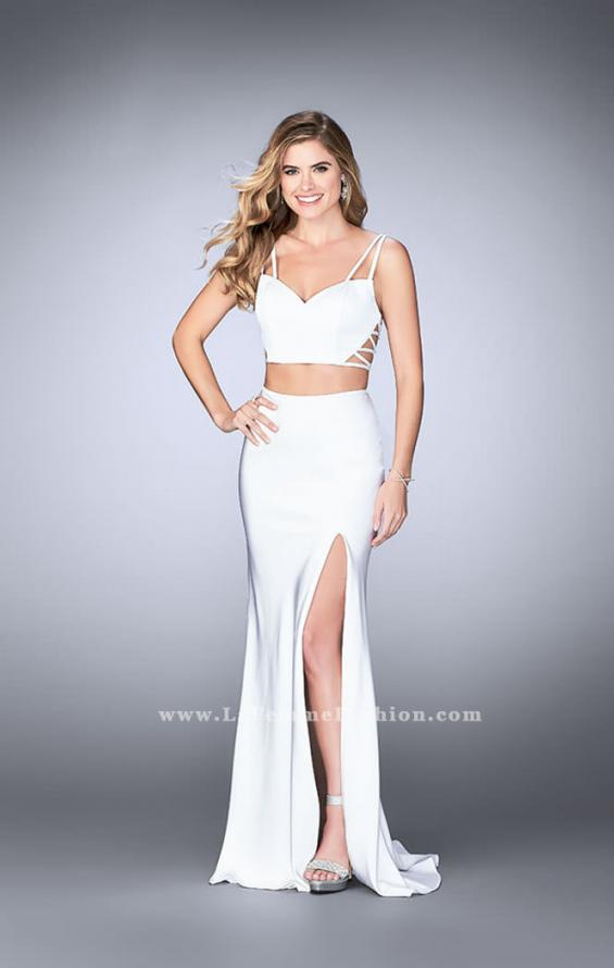 Picture of: Two Piece Jersey Dress with Unique Strappy Back, Style: 24030, Detail Picture 5