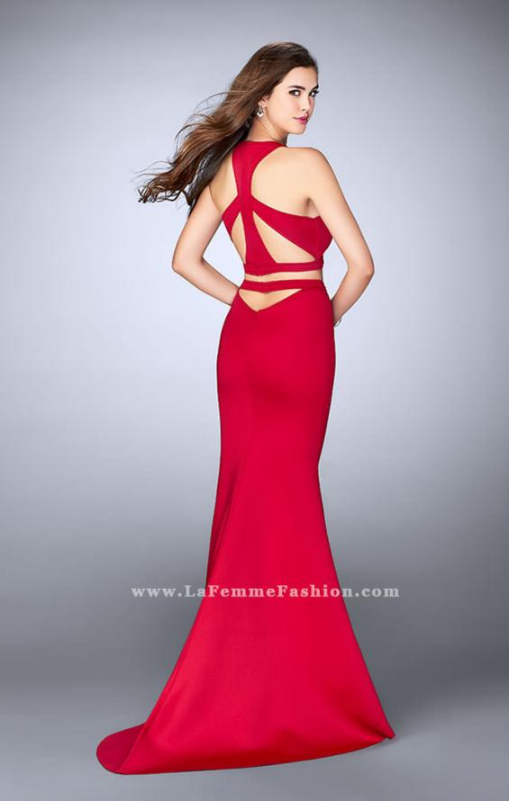 Picture of: Two Piece Racer Back Neoprene Dress with Cut Outs, Style: 24231, Main Picture