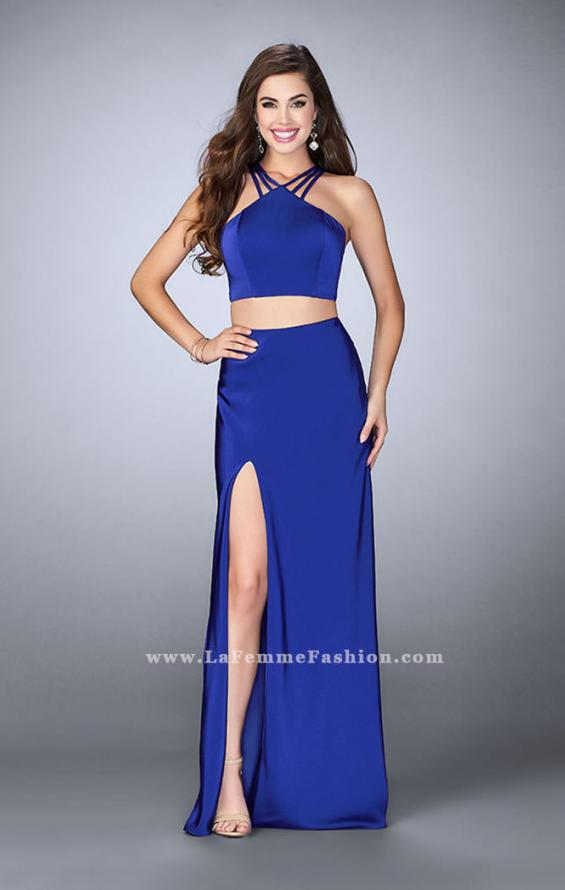 Picture of: Two Piece Jersey Dress with Strappy Lower Back, Style: 24324, Main Picture