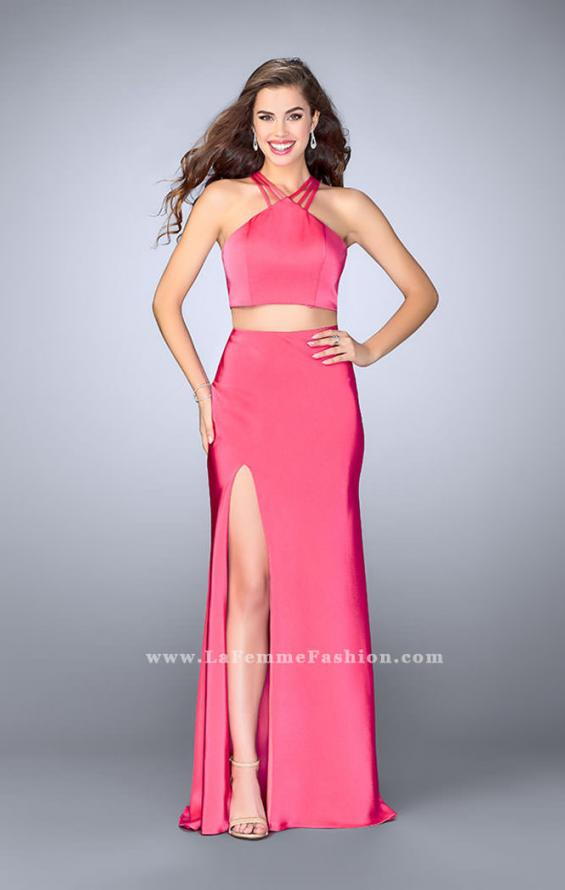 Picture of: Two Piece Jersey Dress with Strappy Lower Back, Style: 24324, Detail Picture 1