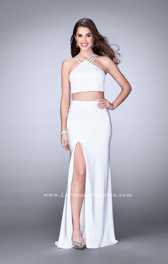 Picture of: Two Piece Jersey Dress with Strappy Lower Back, Style: 24324, Detail Picture 2