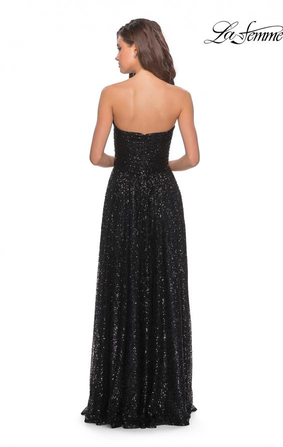 Picture of: Long Sequined Dress with Sweetheart Neckline, Style: 27879, Detail Picture 2