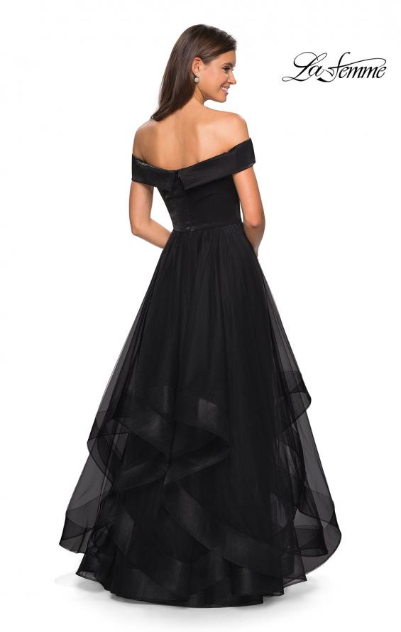 Picture of: Elegant Off the Shoulder Tulle Layered Ball Gown, Style: 27224, Detail Picture 2
