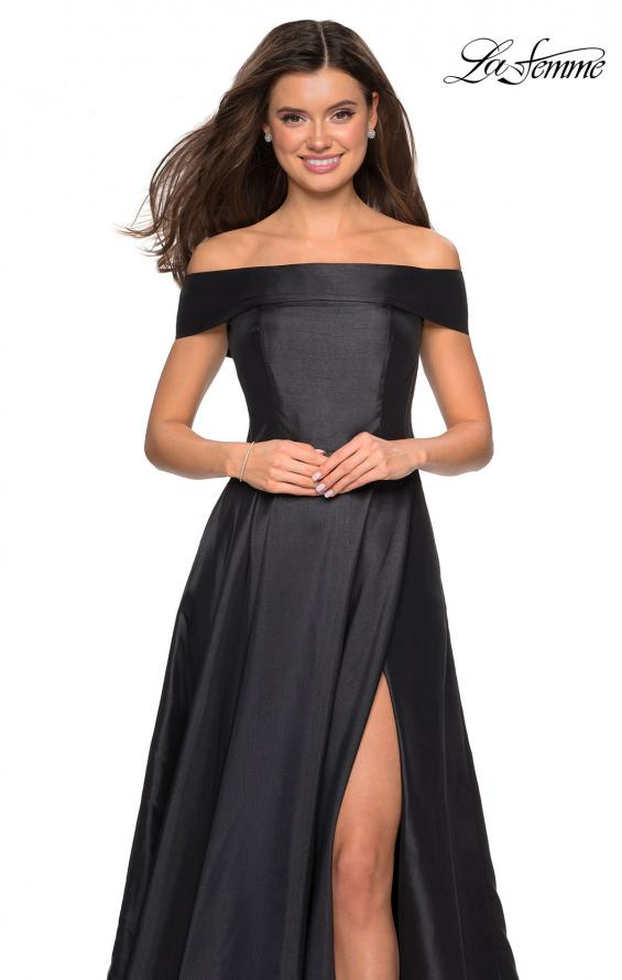Picture of: Long Off The Shoulder Gown with Pockets, Style: 27005, Detail Picture 3
