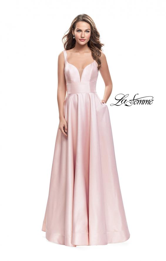 Picture of: A-Line Ball Gown with V Open Back and Pockets, Style: 26015, Main Picture