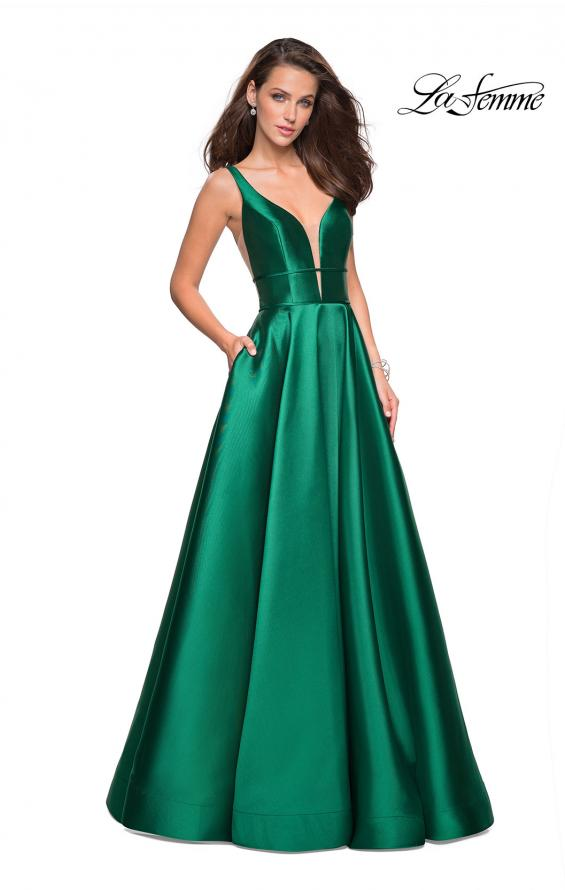 Picture of: A Line Sweetheart Prom Dress with Pockets, Style: 26768, Detail Picture 1