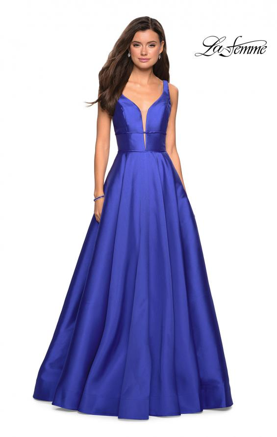 Picture of: A Line Sweetheart Prom Dress with Pockets, Style: 26768, Detail Picture 7