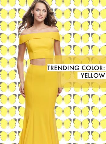 Ways to Wear Yellow Prom Dresses La Femme Blog