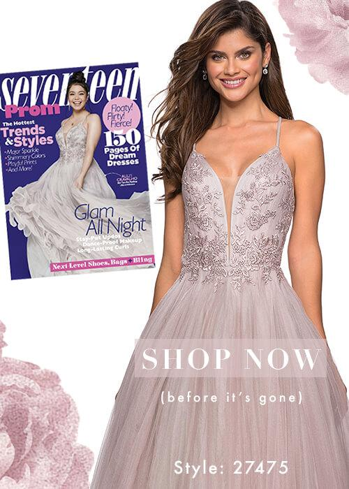 Lavendar Prom Ballroom Dress