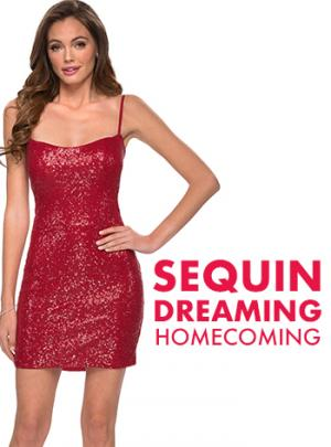 Picture of: Sequin Homecoming and Short Dresses