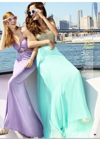 La Femme Styles 22458 and 22285 As Seen In Seventeen Prom Edition 2016, Pg 195