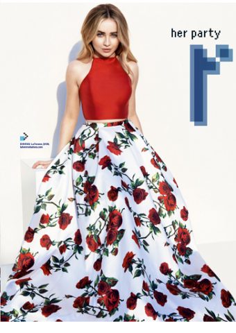La Femme Style 24692 As Seen In Seventeen Prom Edition 2017, Pg 54